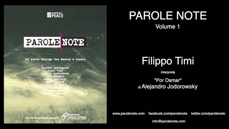 """Filippo Timi interpreta il monologo """"Por Osmar"""" di Alejandro Jodorowsky, traccia 07 del CD """"Parole Note Volume 01"""". Scarica Parole Note da iTunes: http://bit..."""