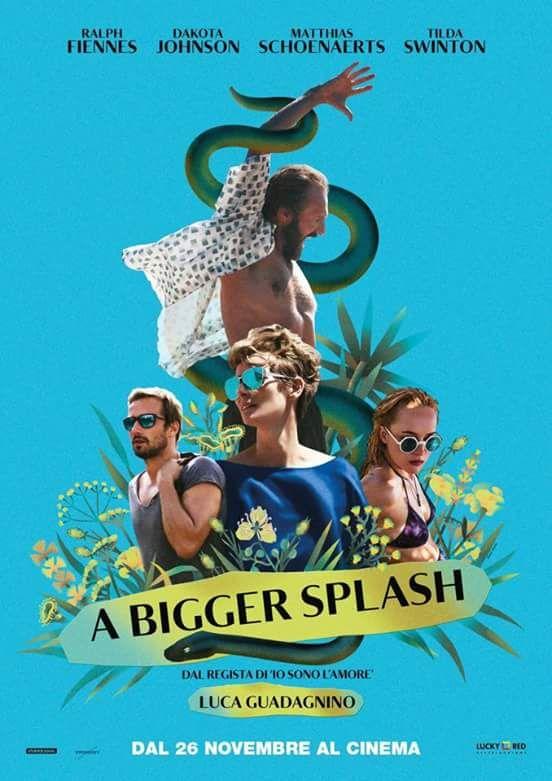 Official poster of A Bigger Splash