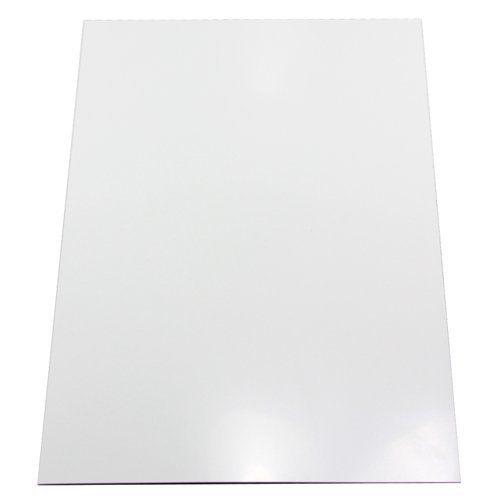 Magnet Expert - Foglio magnetico adesivo, per decorazione, formato A4, 297 x 210 x 0,85 mm, colore: Bianco brillante