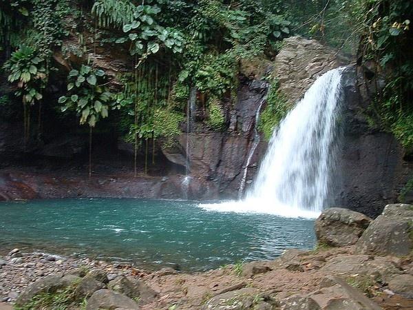 Saut de la Lézarde, Guadeloupe