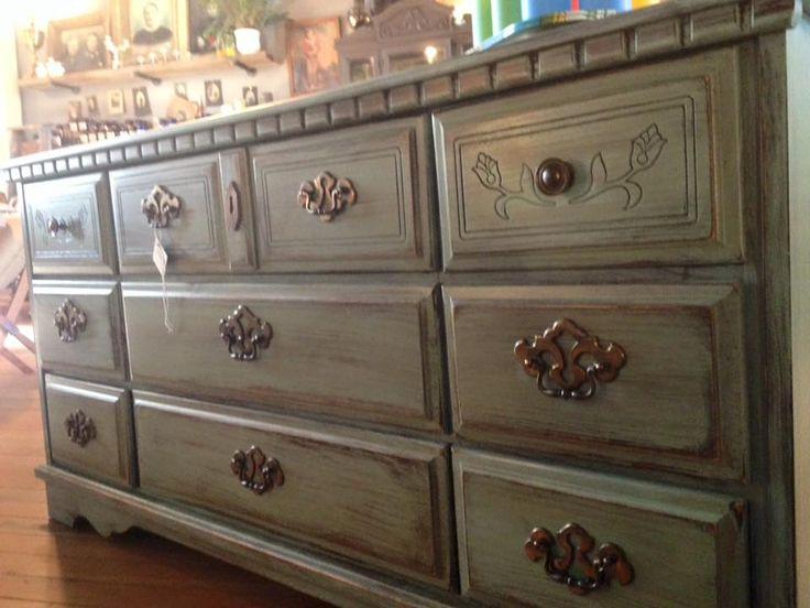 Painted dresser at Gravy Home Goods, 630 Main, Jewell, IA