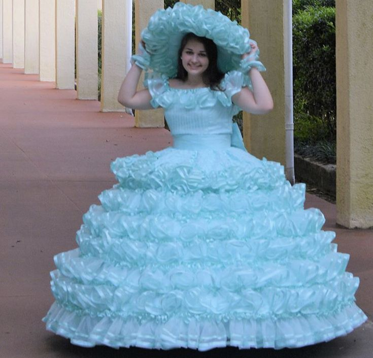 Pin By ParasolPrincess On Poofy Southern Belles