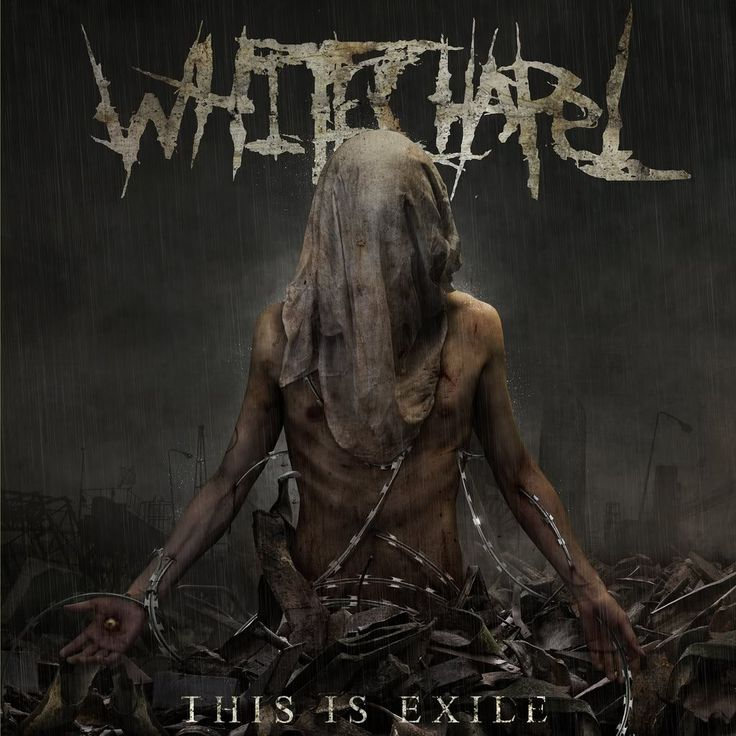 "Whitechapel's album cover for ""This Is Exile"" Rain Song Design"