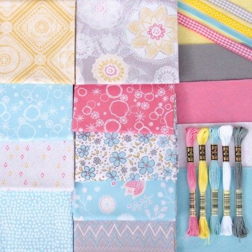 Prairie - Homemakery Collection £36.99  a fabulous collection of co-ordinating fabrics, felts, ribbons and embroidery threads. http://www.thehomemakery.co.uk/fabric/dashwood-studios/prairie/prairie-homemakery-collection