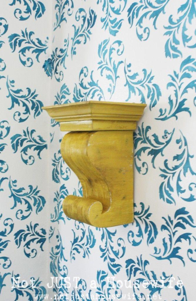 corbel: Diy Corbels, Diy'S, Decorating Ideas, Scrap Wood, Kitchen, Craft Ideas, Yellow Corbel, Crafts