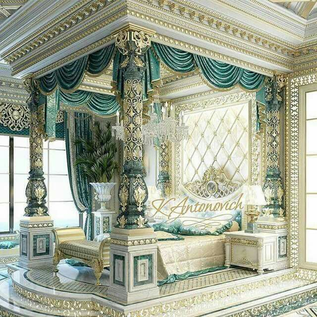 Pin by Rr Rrr on Whimsey's Place in 2019 | Royal bedroom ...