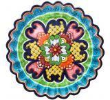 Authentic, Hand-Painted Talavera Plates - Studio La Cupula