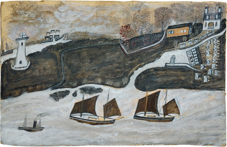 One of the most original artists of the 20th century. Alfred Wallis only took up painting when he was over 70. Working on fragments of wood or cardboard & influenced by a life at sea, his simple paintings of boats are life affirming & inspiring! Alfred Wallis: Works from the Kettle's Yard Collection Exhibition runs at Time & Tide Museum, Gt Yarmouth until 8 September 2013. Entrance is included in museum admission price - see website or tel (01493) 743930 for details.