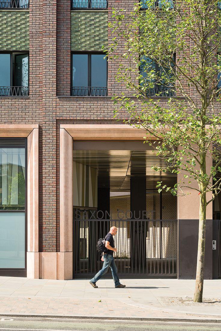 Saxon Court, King's Cross by Maccreanor Lavington Architects. Photo: Tim Crocker