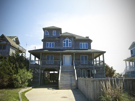 Outer Banks Vacation Rentals | Salvo Vacation Rentals | Moon Palace #687 | (7 Bedroom Oceanfront House)