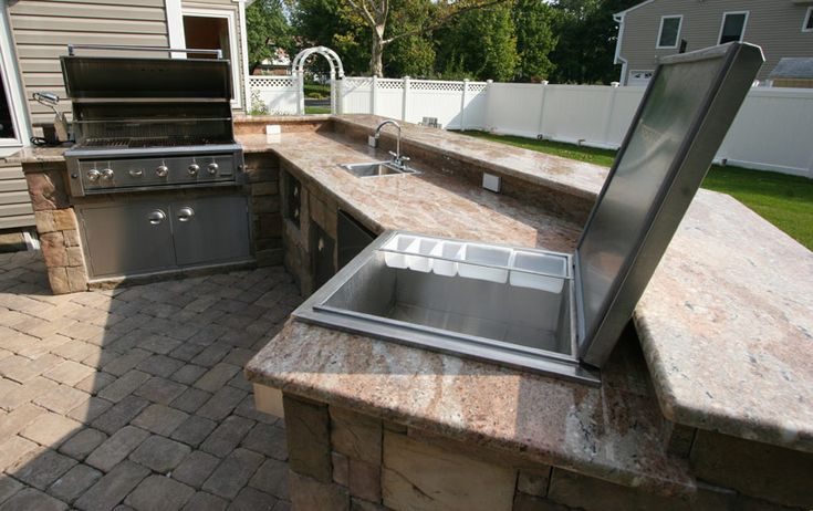 Image Result For Outdoor Kitchen Countertops