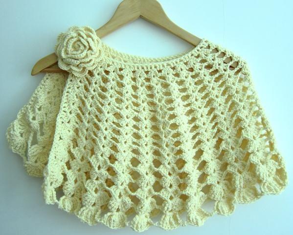 111 best images about crochet cape capelet on pinterest. Black Bedroom Furniture Sets. Home Design Ideas