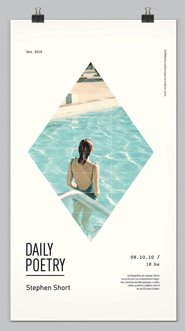 Daily Poetry Poster design