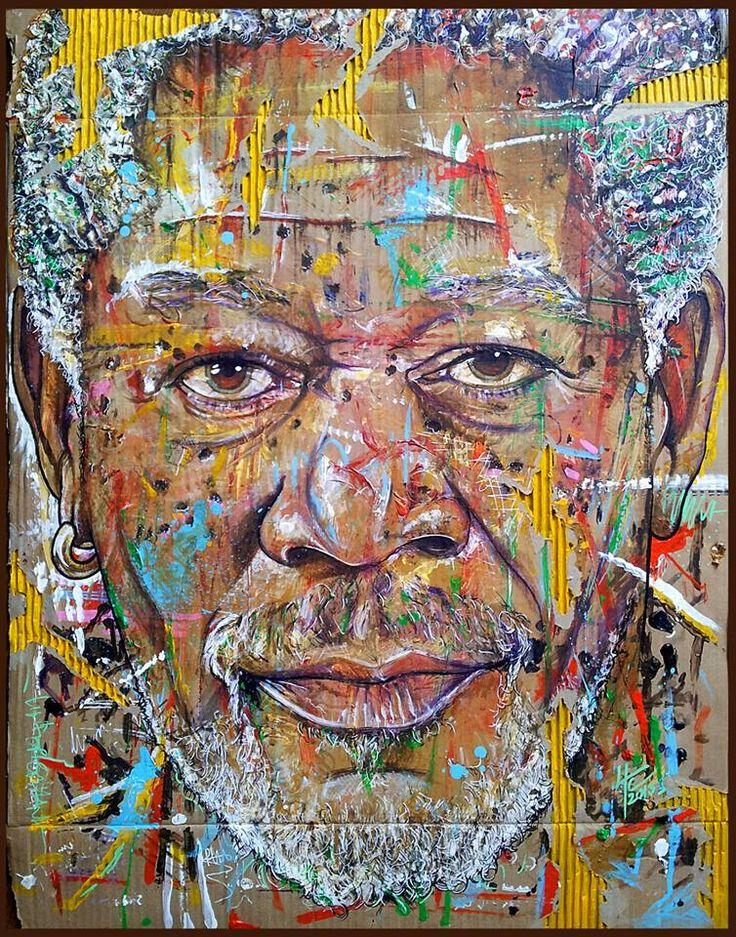 """Morgan Freeman by Yann Couedor [https://www.facebook.com/yann.couedor]"