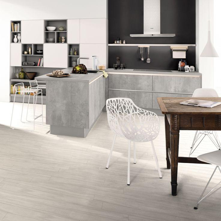 Küche Beton Pinterestu0027te hakkında 25u0027den fazla en iyi fikir U - küche aus porenbeton