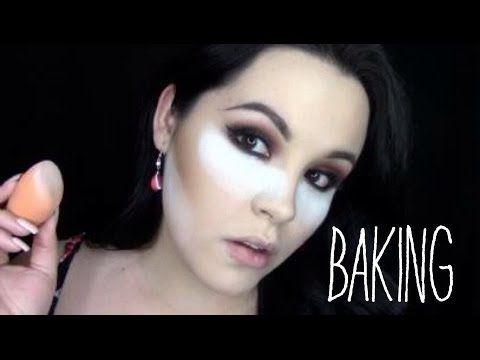 """Técnica """"BAKING"""" para corrector y base de maquillaje perfecta - YouTube"""