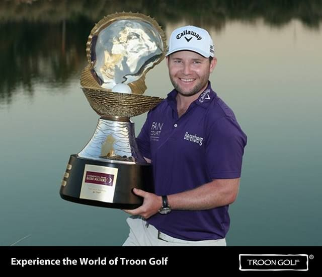Congratulations to Brenden Grace on winning the Commercial Bank Qatar Masters at Doha Golf Club.