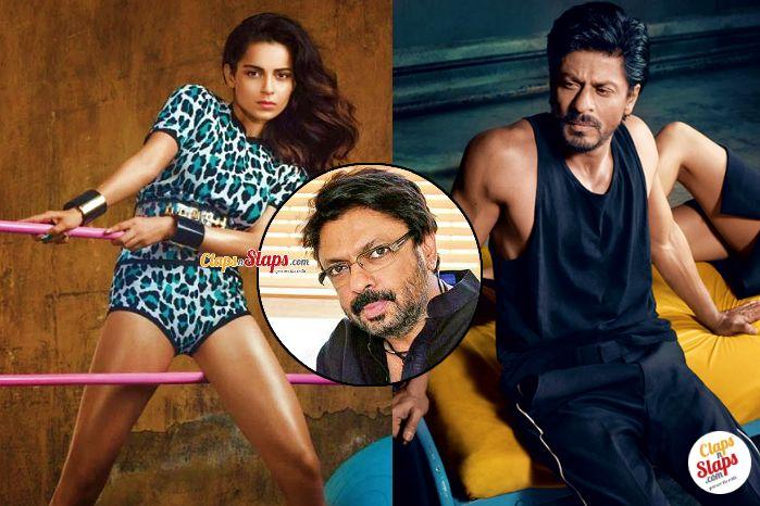 Kangana Ranaut opposite Shah Rukh Khan in Sanjay Leela Bhansali's 'Gustakhiyan'?