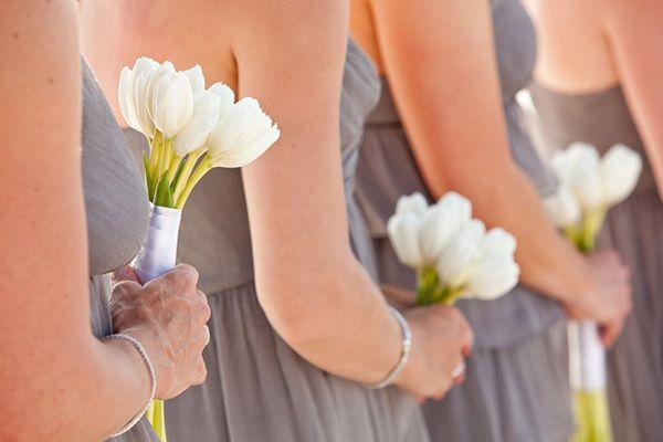 Gray, White & Green Destination Beach Wedding from Ashley Daniell Photography