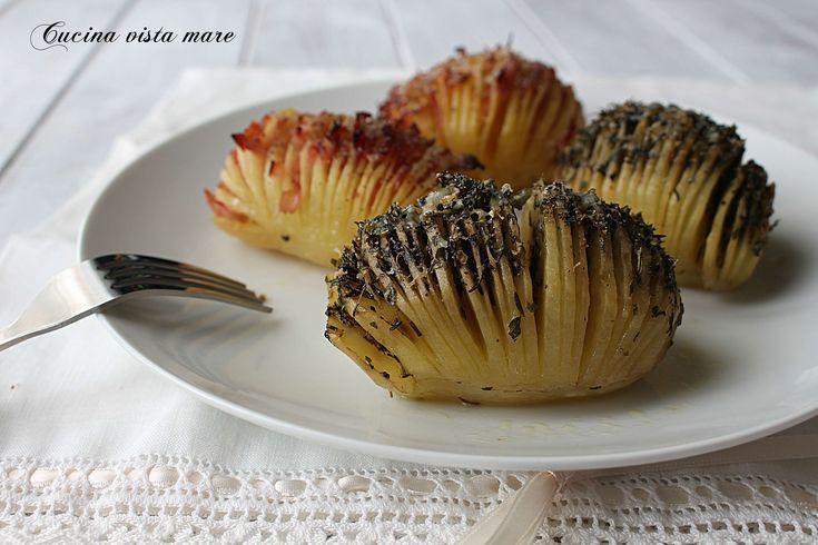 Patate hasselback nel fornetto Versilia
