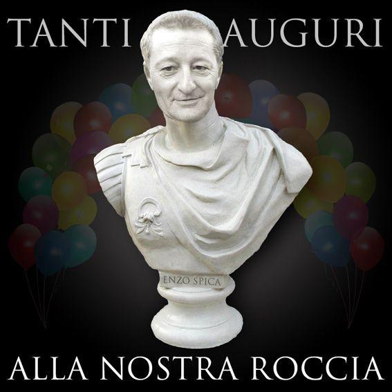 #papà #auguri #59 #statua #roccia #bigliettone