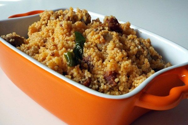 Migas 'express' de cous cous - receta