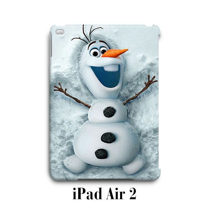 Olaf Frozen Snow iPad Air 2 Case Cover Wrap Around