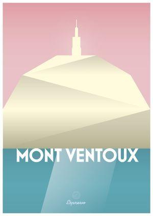 Mont Ventoux - 594 x 841mm