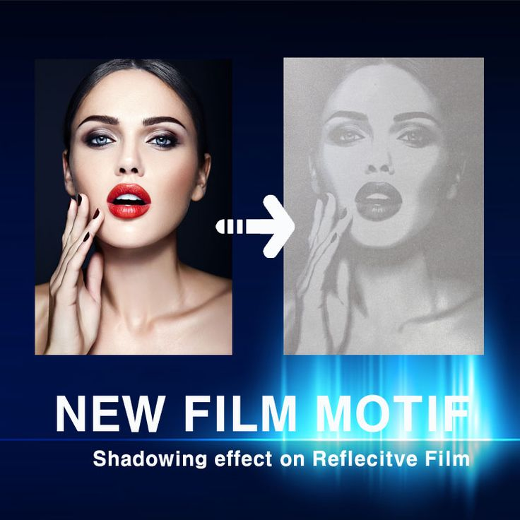 NEW FILM MOTIF HOT FIX  Cut & Engraved by Machine  Shadowing effect on Reflecitve Film  Please contact us.  info@shine-art.com #shineart #film #motif #reflective