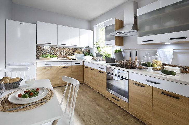 Inspiracje Pomysly I Aranzacje Do Kuchni Black Red White Kitchen Home Decor Interior