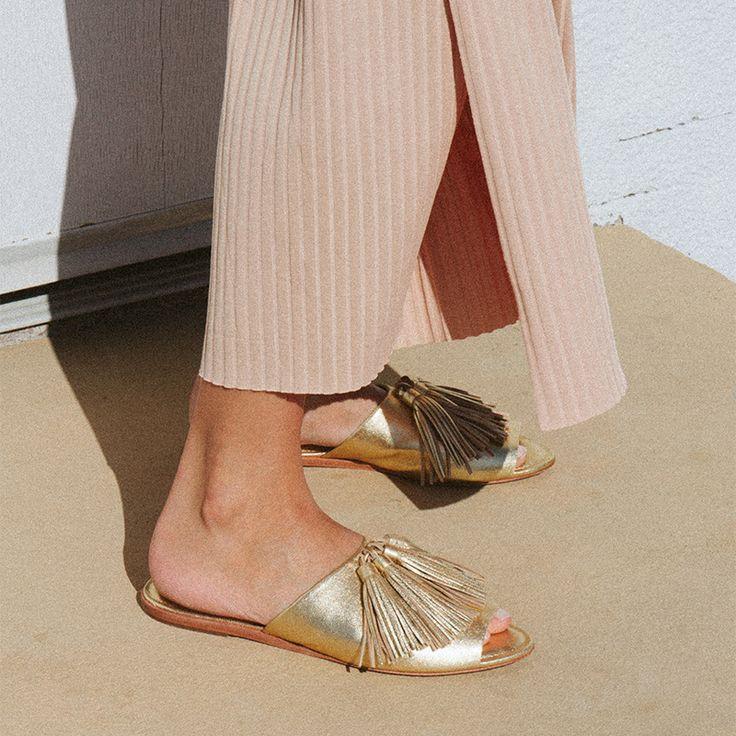 Loeffler Randall RE17 - Kiki in Gold