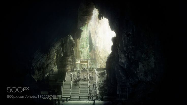 http://500px.com/photo/182229749 Light in the end by oualeksej -Batu Caves Kuala Lumpur Malaysia Welcome to visit my | Instagram | VK |. Tags: peopletravelreligionchurchlightoldtourismarchitecturetemplejapancultureindiaasiamalaysiakuala lumpurbatu caves