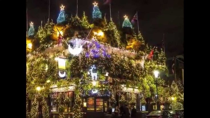 Christmas Trees Decorations and Lights around the World.