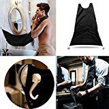 Beard Apron Beard Catcher Bib with Suction Cups for Mirror. Easy and Effective Way to Keep Your Sink Clean. Perfect Beard Care Shaving Hair Catcher Gift for Gentleman Reviews