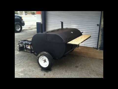 Bbq smokers for sale, custom made smokers, Bbq trailers, Barbecue trailers for sale