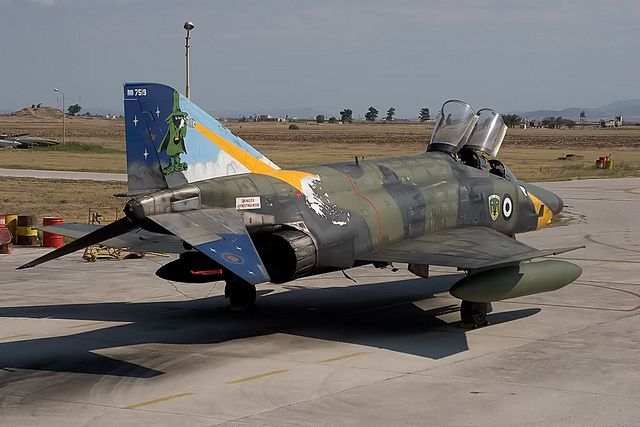 f-4 phantom ii special paint | RF-4E special tail at Larissa AFB, Hellenic Air Force | Flickr - Photo ...
