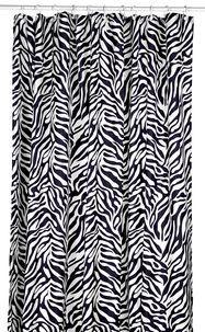 Suihkuverho zebra