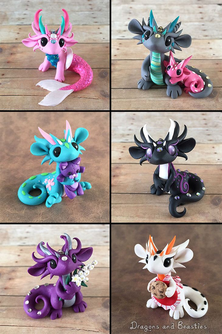 The 25 best polymer clay figures ideas on pinterest for Dragon crafts pinterest