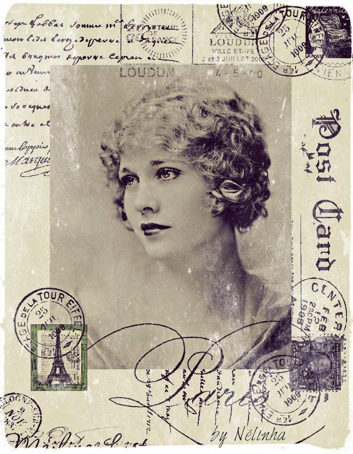 Composici n mujeres vintage y antiguas im genes y - Composiciones de fotos ...