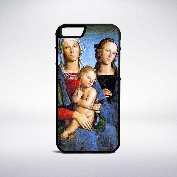 Pietro Perugino - Virgin And Child Phone Case – Muse Phone Cases