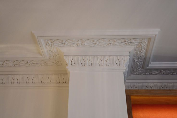 Cornice Details in Living Room | JHR Interiors
