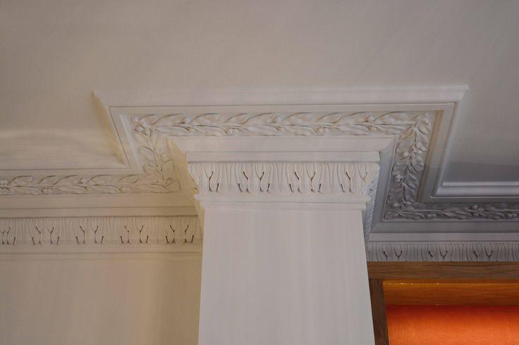 Cornice Details in Living Room | JHR Interiors