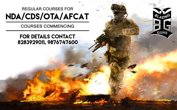 Blazing Guns Academy Giving the NDA, CDS/OTA, AFCAT, PILOT Coaching and guide to  successful career in the Armed Forces