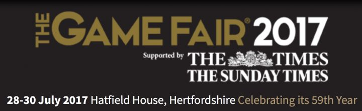 We will be attending The Great Game Fair, will you be there?