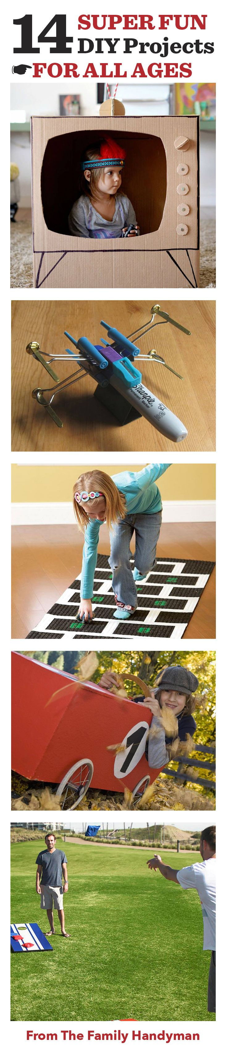 14 Super Fun DIY Projects for All