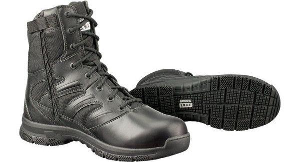 "Original SWAT- Force 8"" side zip boots. Use promo code JMiller10 at www.squaredawaysurplus.com for 10% off! #getsquaredaway"