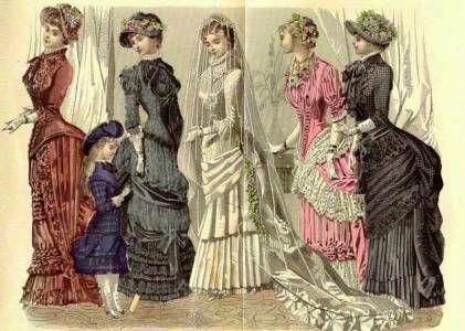 Kleider mit Tornüre