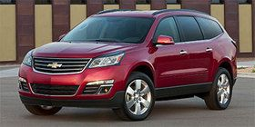 2014 Chevrolet Traverse seats up to 8 with 3rd row.  #5 affordable SUV.