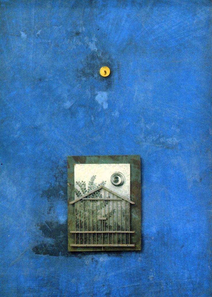 Max Ernst, Sanctuary (Oil and collage on panel), 1965.