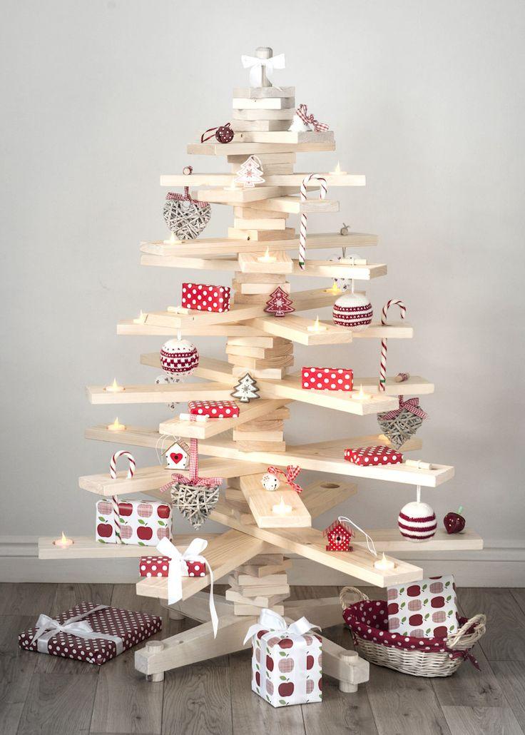 Arbre de Noël en bois (stock limité)